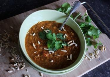 Dahl: (Vegan) Indiase linzencurry
