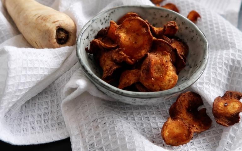 Healthified: Pastinaak chips