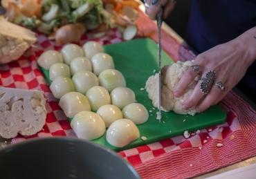 WORKSHOP: Indian street food (vegan) – Spice Trip met Paulami